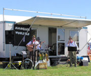 The Mangledwurzels at 153rd Mid Somerset Show, Shepton Mallet (21 Aug 2005)