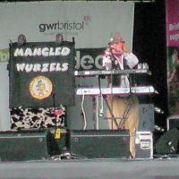 Jethro Tool on stage at the EDF Energy Bristol Harbour Festival (2 Aug 2008)