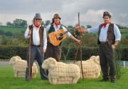 The Mangledwurzels with the Shepton Sheep