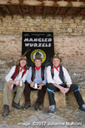 The Manglewurzels 2017 photo-shoot at Newton Farm Shop, Nr. Bath (10th April 2017)